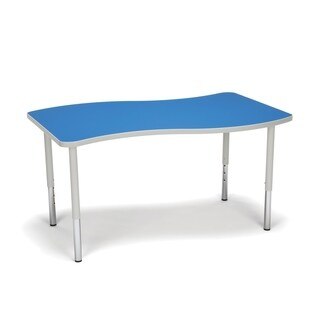 OFM Adapt Series Large Wave Table Height Adjustable Desk (More options available)
