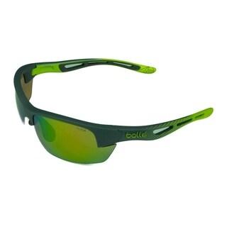 Bolle Bolt S Matte Smoke/Lime w/ Modulator Borwn Emerald Lens - Smoke - Medium