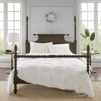 True North by Sleep Philosophy Light Warmth White 100-percent Cotton Oversized Down Comforter