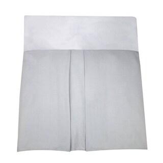 Nautica Uni Grey Dust Ruffle