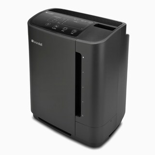 O2+ Revive TrueHEPA Air Purifier + Humidifier, Black