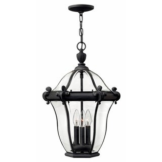 Link to Hinkley San clemente 3-Light Outdoor Pendant in Museum Black Similar Items in Floor Lamps