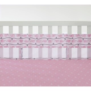 Nautica Girl Secure-Me Crib Liner