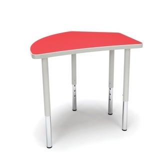 OFM Adapt Series Crescent Table Height Adjustable Desk