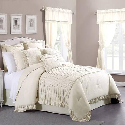 Modern Threads Antonella Sand 24-piece Bed in a Bag Set