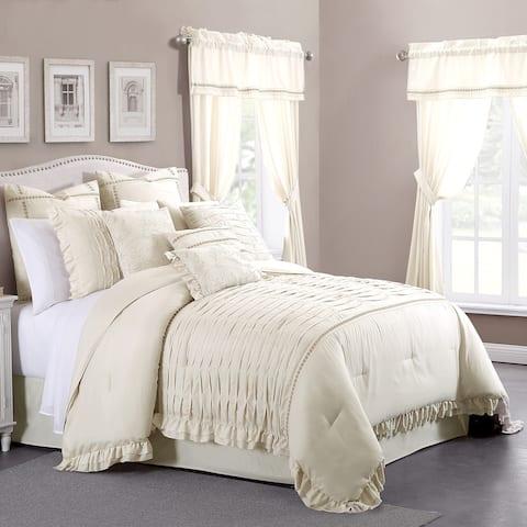 Amrapur Overseas Antonella Sand 24-piece Bed in a Bag Set - Multi