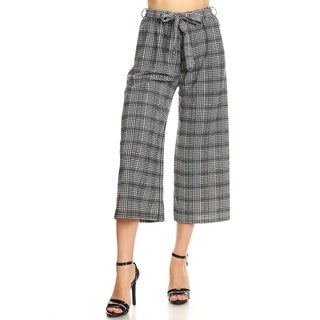Link to Women's Casual Capri Pants with Waist Tie Similar Items in Pants
