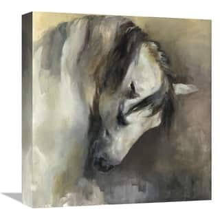 Global Gallery, Marilyn Hageman 'Classical Horse' Stretched Canvas Artwork