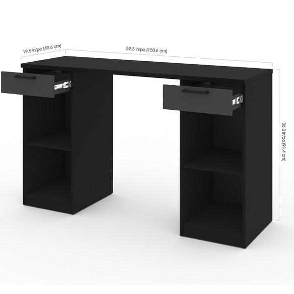 Bestar Lincoln 2-Drawer Workbench