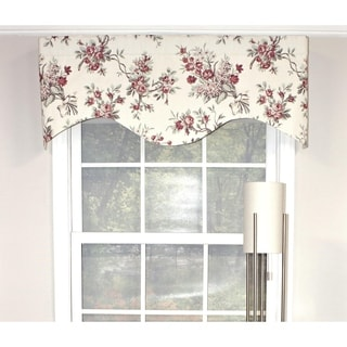 RLF Home Dewillow Cornice Window Valance - Natural