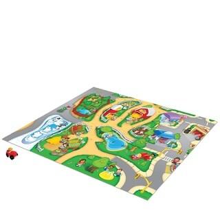 TCG Toys Fisher Price Little People Original Mega Mat Play Mat w/ Bonus Vehicle