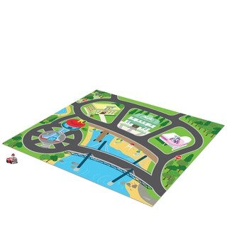 TCG Toys Paw Patrol Original Mega Mat Play Mat w/ Bonus Vehicle