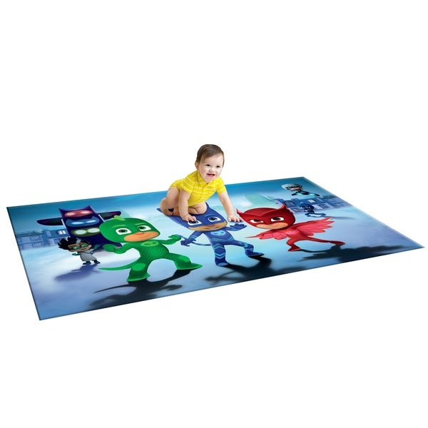 4534eef8ce Shop TCG Toys PJ Masks Memory Foam 2 Sided Jumbo Gelli Mat Play Mat ...