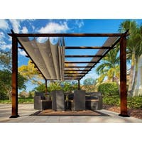 Paragon 11 x 16 Pergola with Sand Canopy