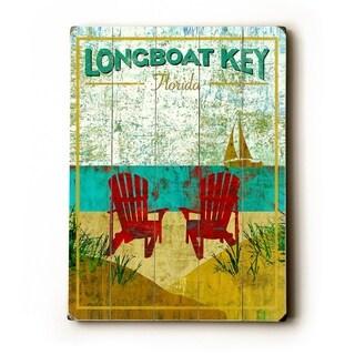 longboat key -   Planked Wood Wall Decor by Stella Bradley