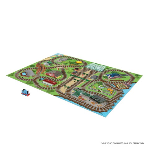 TCG Toys Thomas & Friends Jumbo Mega Mat Play Mat w/ Bonus Vehicle