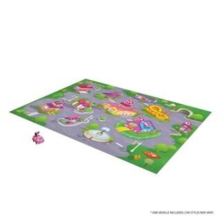 TCG Toys Minnie Mouse Jumbo Mega Mat Play Mat w/ Bonus Vehicle