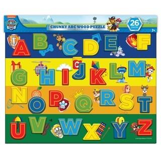 TCG Toys Paw Patrol 26 Piece Chunky ABC Wood Puzzle