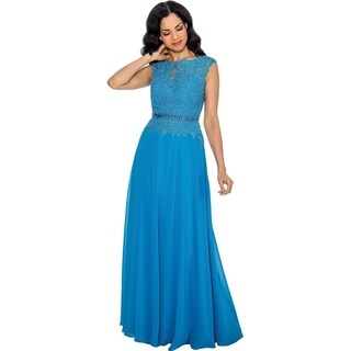 Annabelle Women's Elegant Prom Long Dress