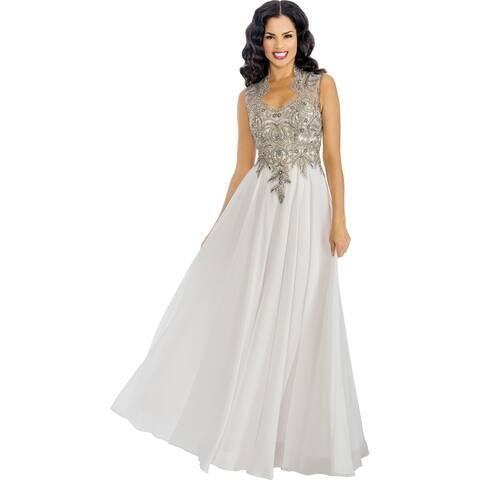 Annabelle Women's Elegant Prom Maxi Dress