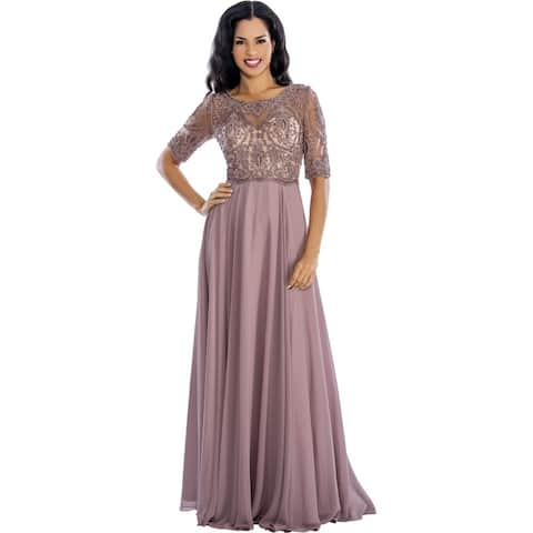 98e283e19eb Buy Boatneck Evening & Formal Dresses Online at Overstock | Our Best ...