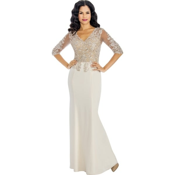 b2ba40bfbcb Shop Annabelle Women s Elegant Mother of the Bride Dress - Free ...