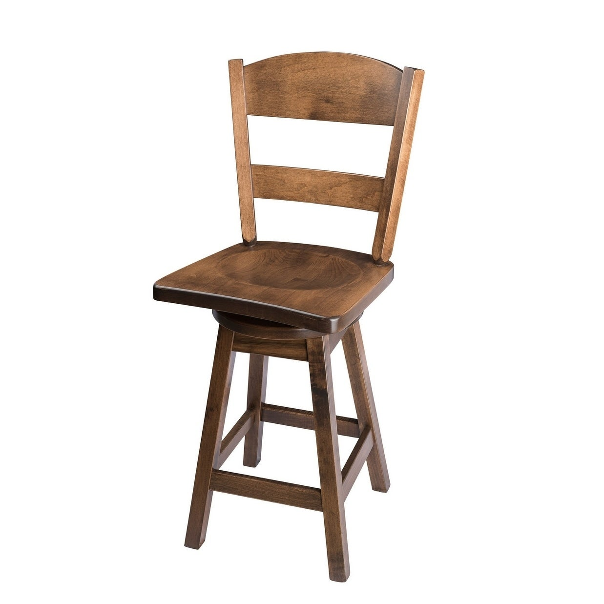 Remarkable Swivel Bar Stool With Classic Back In Maple Wood Pdpeps Interior Chair Design Pdpepsorg