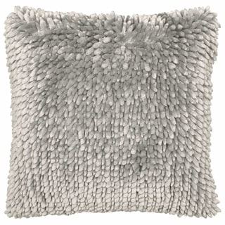 Butter Chenille 18 in. x 18 in. Decorative Pillow