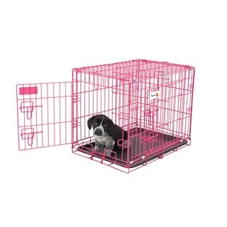 Aspen Pet 2 Door Wire Puppy Crate