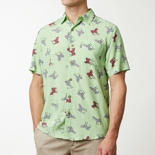 Zebras Men's Short Sleeve Shirt