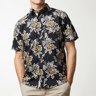 Guitars in Paradise Men's Short Sleeve Shirt