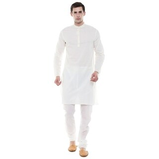 Handmade In-Sattva Men's Indian Two-Piece Ensemble