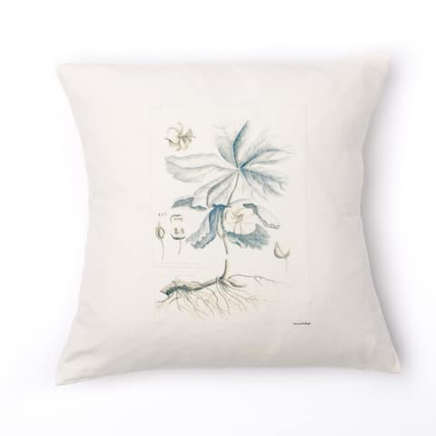 De Botanique Floral Accent Pillow
