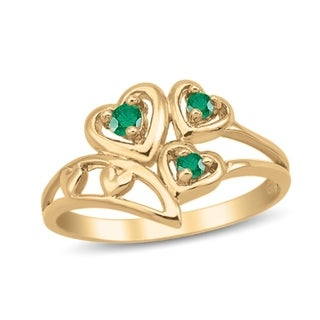 Link to 10K Yellow Gold Genuine Birthstone Ring Similar Items in Birthstone Jewelry