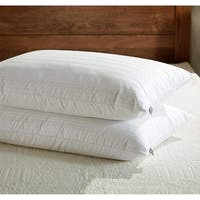 Downluxe Goose Feather and Down Pillows ( Set of 2) - White