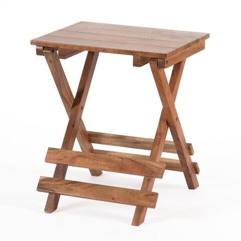 Vienne Folding Small Side Table/Stool