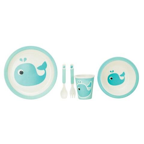 Lil' Bit Kids Bamboo Fiber Dinnerware set