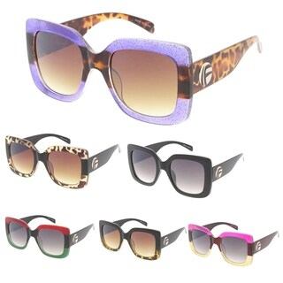"MLC Heritage Modern ""F'd Up 2.0"" Simple Square Frame Sunglasses"