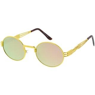 "MLC Eyewear Heritage Modern ""Steampunk"" Wired Frame Sunglasses"