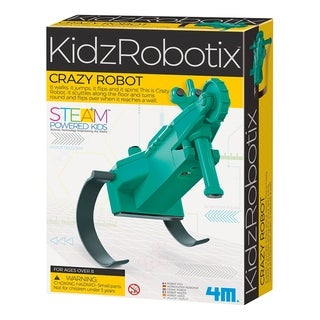 4M KidzRobotix Crazy Robot Kit - STEAM Powered Kids