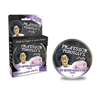 Professor Pengelly's Putty - UV Hyper-Reactive White Putty