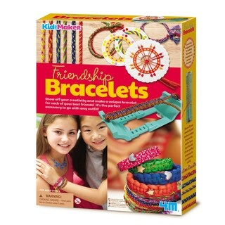 4M KidzMaker Friendship Bracelet Kit