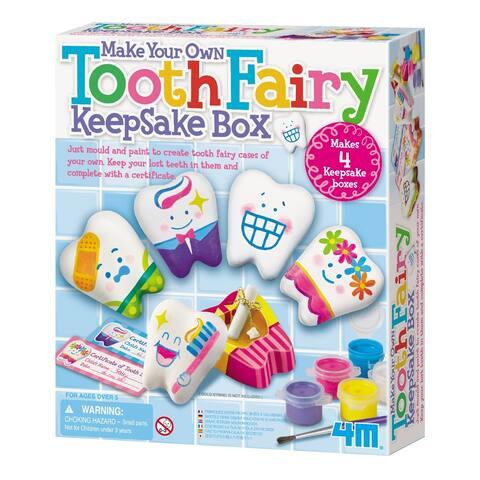 4M Make Your Own Tooth Fairy Keepsake Box