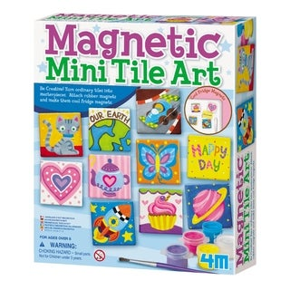4M Magnetic Mini Tile Art Kit