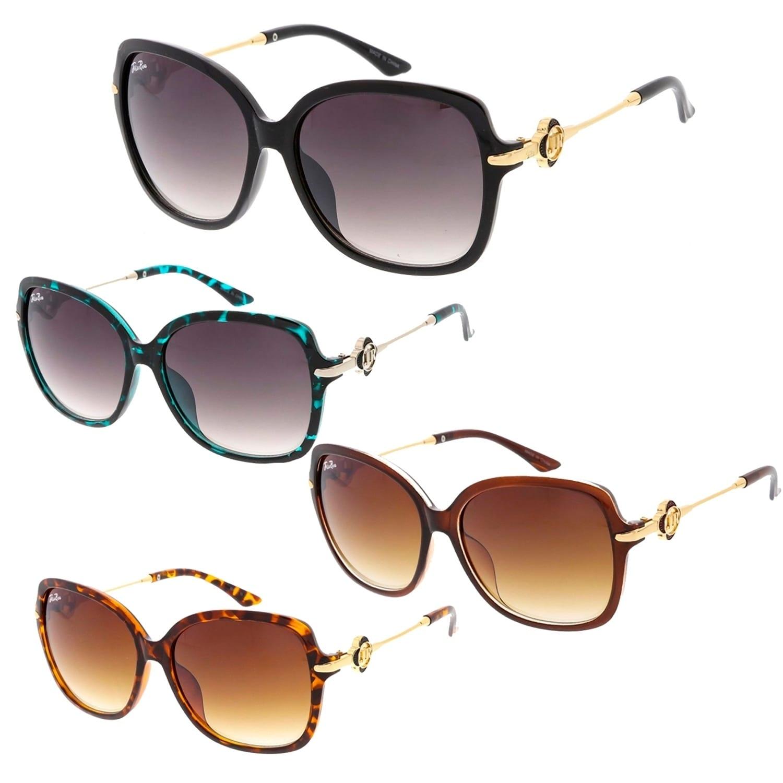 377d0b6ae49e Shop Jolie Rose Oversize Women Butterfly Frame Sunglasses Model 144 - Free  Shipping On Orders Over $45 - Overstock - 22673076