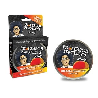 Professor Pengelly's Putty - Thermo Reactive Sunset Red Putty