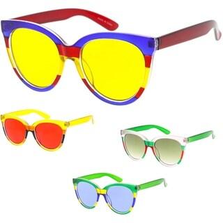 "MLC Eyewear Urban Modern ""Kenya"" Plastic Frame Sunglasses"