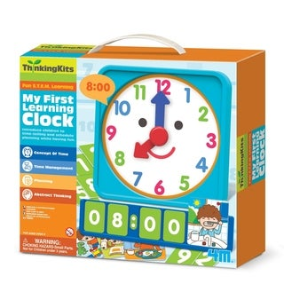 4M ThinkingKits My First Learning Clock Kit