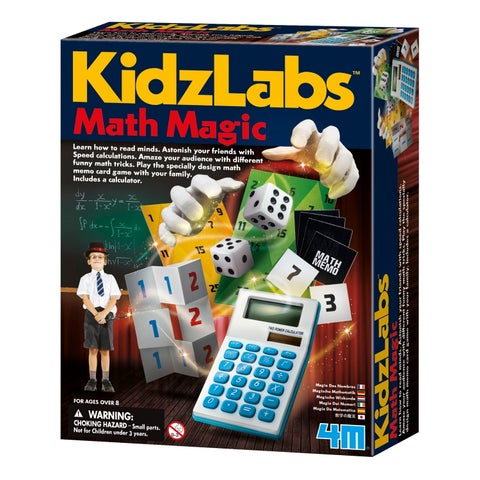 4M KidzLabs Math Magic Puzzles and Games
