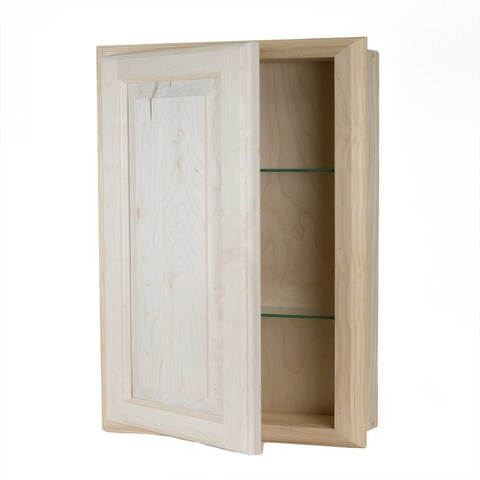 Recessed Wood Baldwin Medicine Storage Cabinet